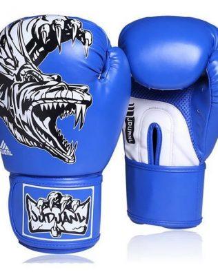 Găng Tay Tập Võ Boxing Jduanl Godzilla Gloves Xanh – Blue