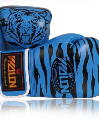 GĂNG TAY BOXING GLOVES WOLON TIGER XANH – BLUE