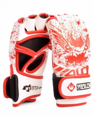 GĂNG TAY WOLON BLOOD MMA GLOVES – TRẮNG