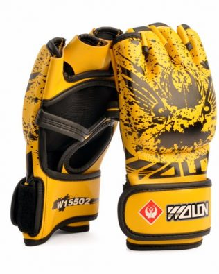 GĂNG TAY WOLON BLOOD MMA GLOVES – VANG