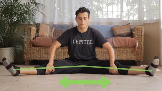 Hướng dẫn tập xoạc chân ngang trong luyện tập võ thuật