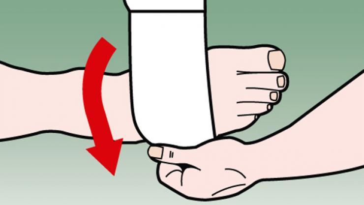 6 Bước để thuần thục cách quấn băng cổ chân