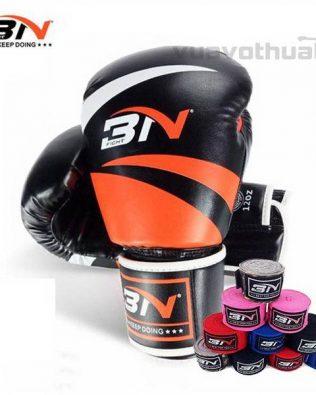 [COMBO] – Găng Boxing BN CAM và băng đa quấn tay BN CAM