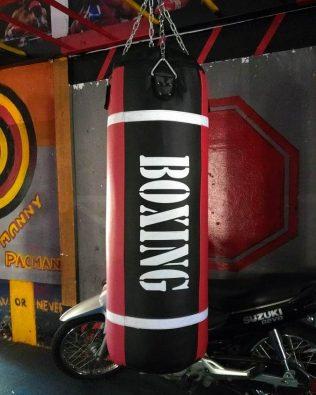 Vỏ Bao cát lớn 1m2 45cm tập lực lowkick đánh nằm cho Boxing, MMA, Kickboxing, Muaythai – Large giant punch bag