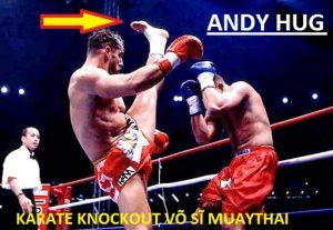 Karate vs Muay Thái | Sát Thủ Karate cơ bắp HÀNH HẠ đối thủ như thế này đây | Andy Hug