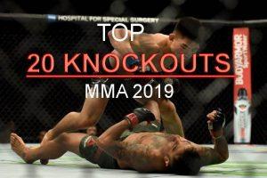TOP những pha knockout đỉnh nhất năm 2019 | MMA | UFC