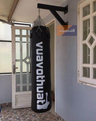Giá treo bao cát giá rẻ tập boxing | Khung treo bao đấm gắn tường