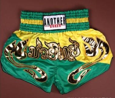 Quần Muay Thái Another Boxer Chính Hãng Muay Thai Short Chất Liệu Satin Cao Cấp | AB-025
