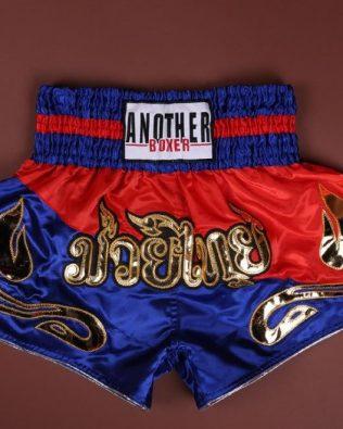 Quần Muay Thái Another Boxer Chính Hãng Muay Thai Short Chất Liệu Satin Cao Cấp | AB-022