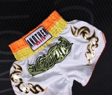 Quần Muay Thái Another Boxer Chính Hãng Muay Thai Short Chất Liệu Satin Cao Cấp | AB-005