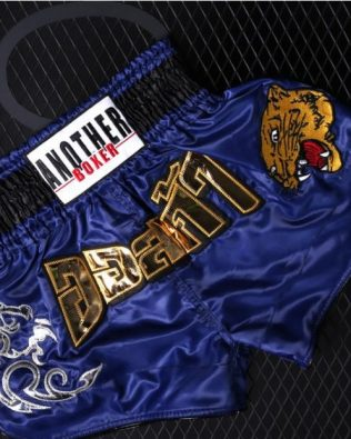 Quần Muay Thái Another Boxer Chính Hãng Muay Thai Short Chất Liệu Satin Cao Cấp | AB-002