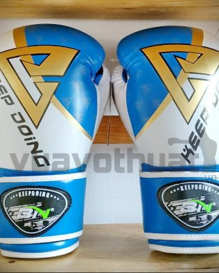 Găng tay Boxing 3N thế hệ 3.0 xanh đen