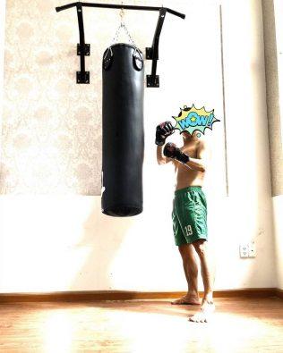 Khung Treo Bao Đấm Boxing Đa Năng Có Tích hợp Xà Đơn