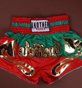 Quần Muay Thái Another Boxer Chính Hãng Muay Thai Short Chất Liệu Satin Cao Cấp   AB-021