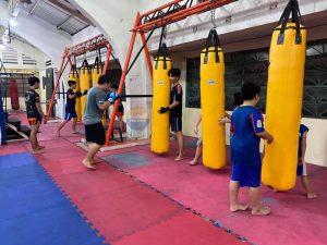 Hoàn thành Giao 5 Bao đấm dài 1m8 cực cao cấp cho Phòng tập Muay Thái đội tuyển Tp.Hồ Chí Minh ở 04 Lê Đại Hành
