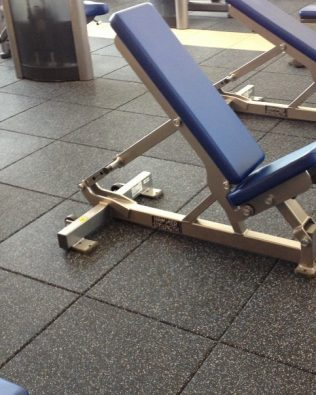 Gạch cao su EPDM lót sàn 50 x 50 cm cho Phòng Gym, Fitness, Yoga, Sân chơi thiếu nhi giá xưởng tốt nhất thị trường
