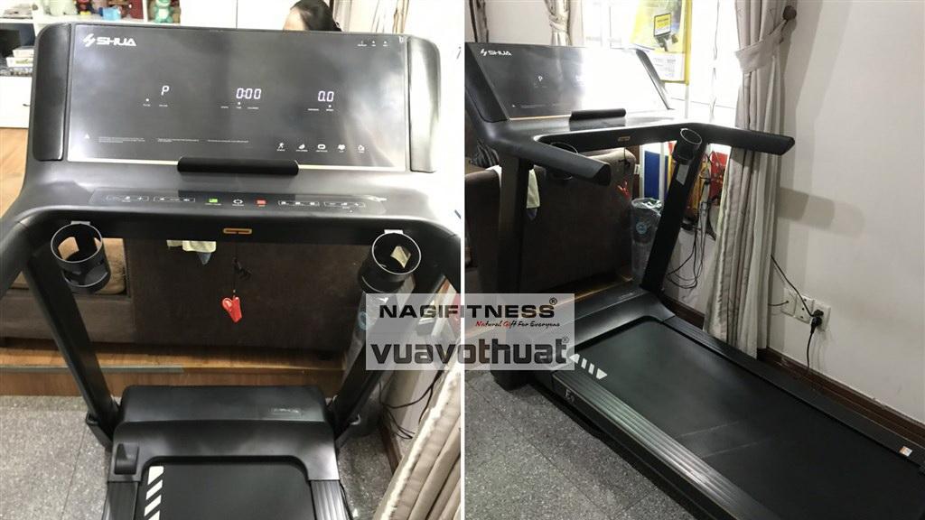 Lắp đặt và Bàn giao máy chạy bộ điện cho gia đình SHUA E9 cao cấp   Cách chọn máy chạy bộ gia đình?