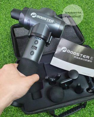 Súng massage Booster E cầm tay giảm đau cơ căng cơ chính hãng | Massage Gun Gym