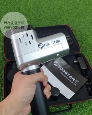 Súng massage Booster T cầm tay giảm đau cơ căng cơ chính hãng | Massage Gun Gym